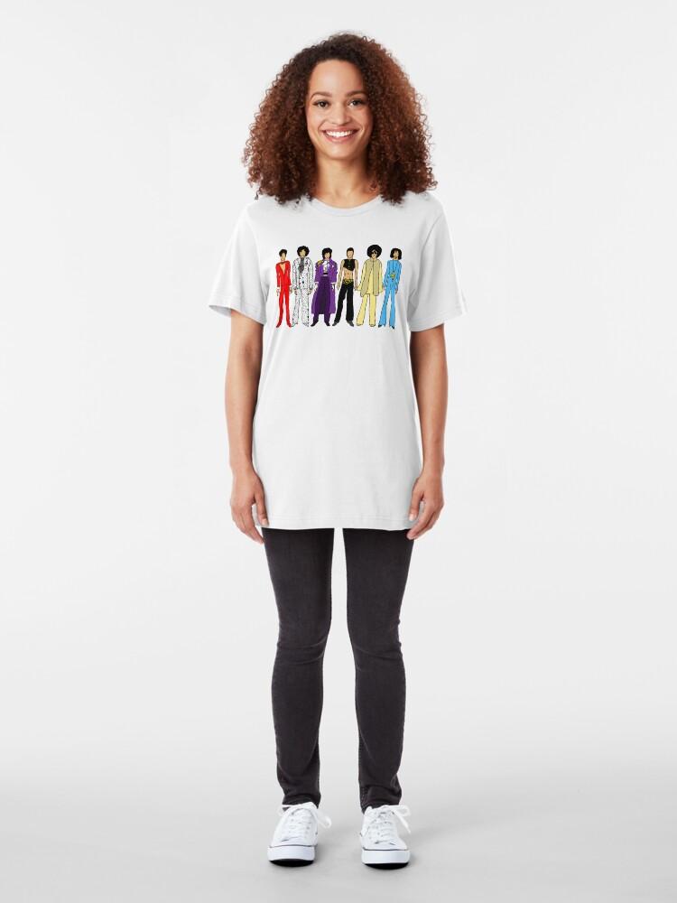 Alternate view of Retro Vintage Fashion 16 Slim Fit T-Shirt