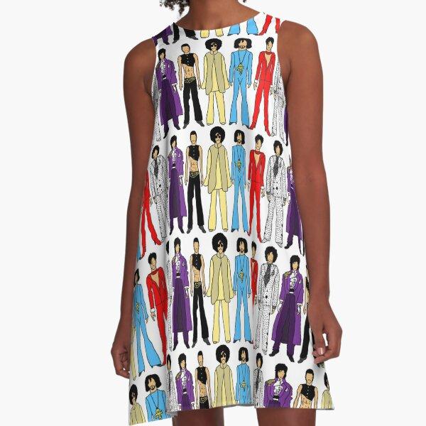 Retro Vintage Fashion 16 A-Line Dress