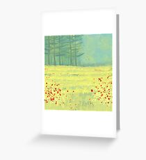 Meadow near Périgueux Greeting Card