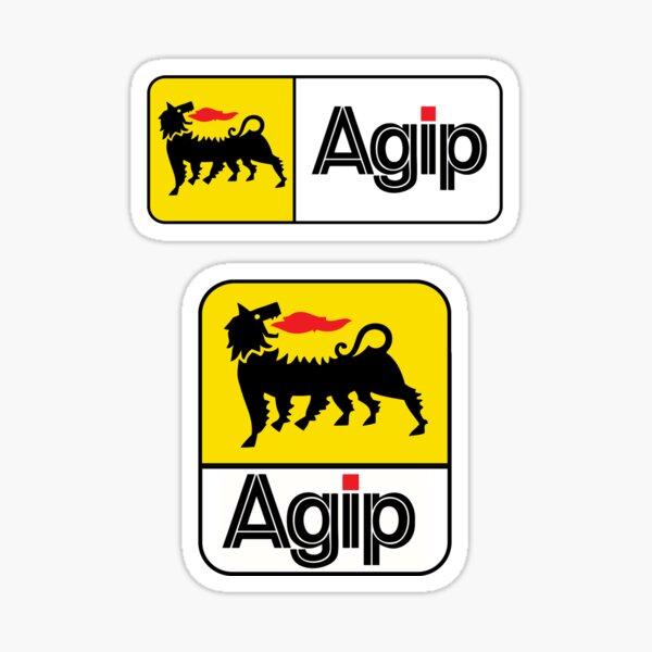 Agip Logo Sticker, Shirt, Mask Sticker