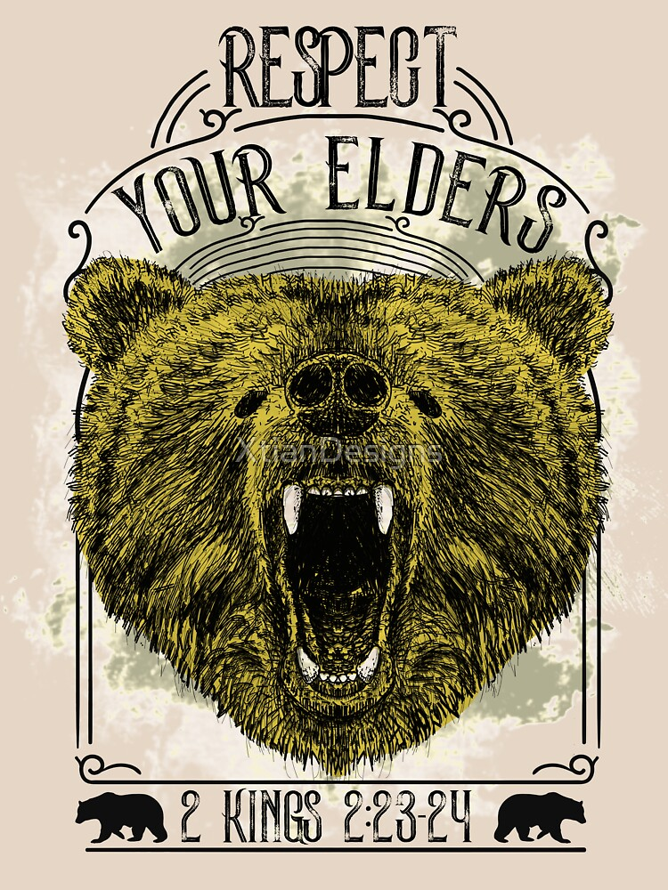 Respect Your Elders by XtianDesigns