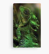 Emerald Scales Canvas Print