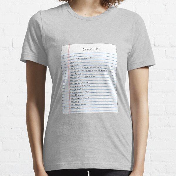Million Dollar Check List Essential T-Shirt