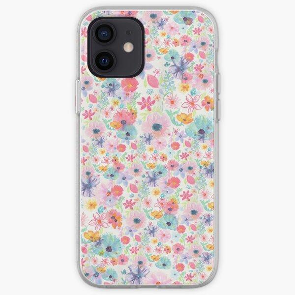 Fleurs Coque souple iPhone