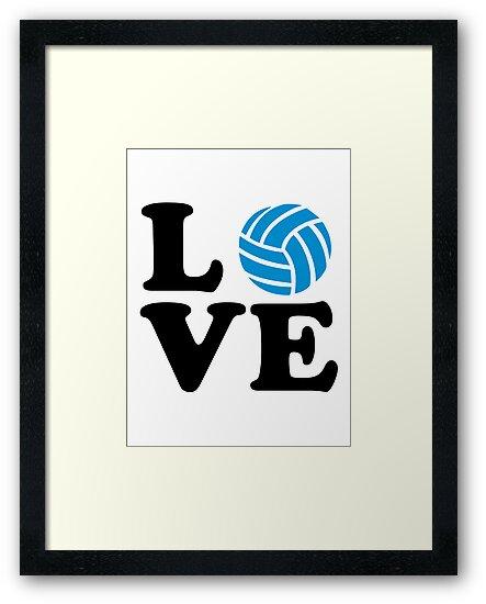 Volleyball love by Designzz