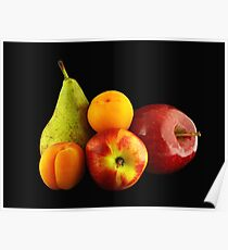 Varied Fruits Poster