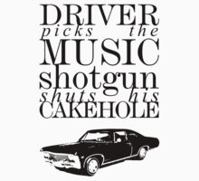 Supernatural - Driver picks the music...