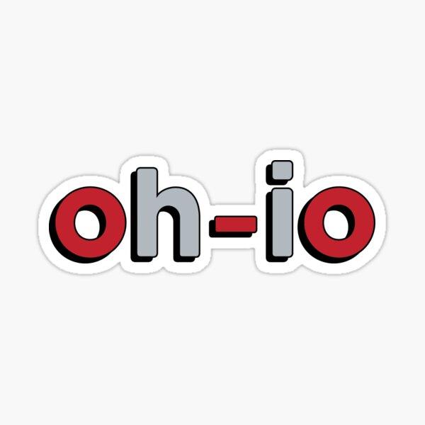 oh-io Sticker