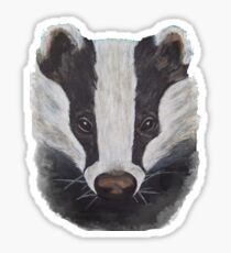 Badger Sticker