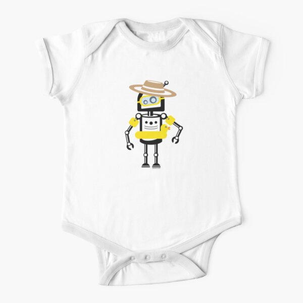 Summer-Bot Short Sleeve Baby One-Piece