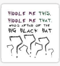The Riddler Sticker