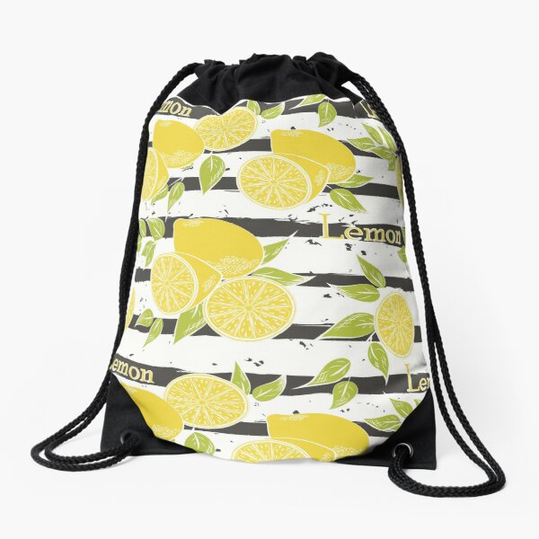 Lemons Drawstring Bag