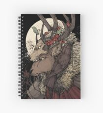 The Elk King Spiral Notebook