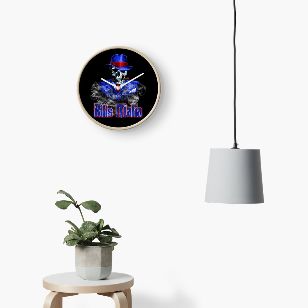 Bills Mafia Clock