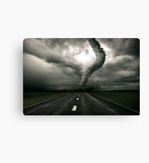 Tornado the anger of Nature Canvas Print