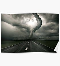 Tornado the anger of Nature Poster