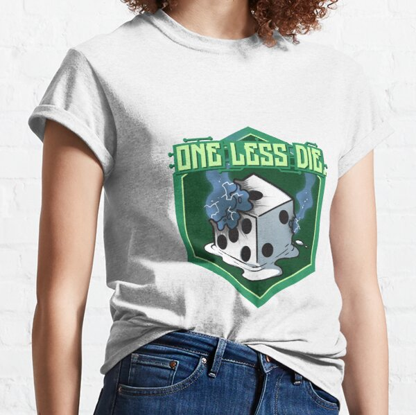 One Less Die (Logo) Classic T-Shirt