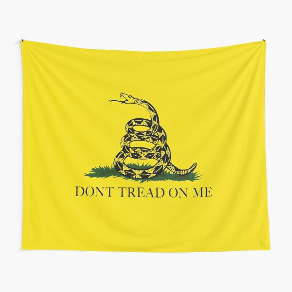 Gadsden Don't Tread On Me Flag Tapestry