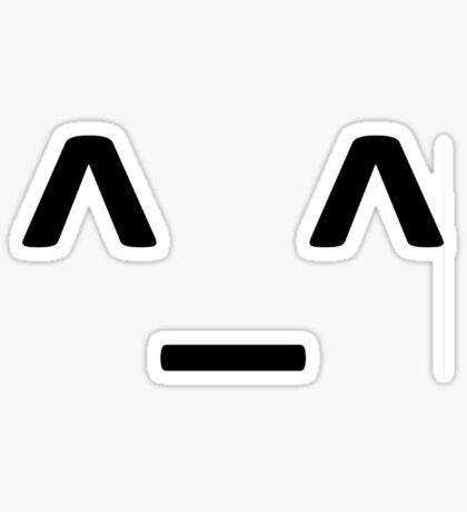 happy emotion T-shirt Sticker
