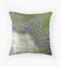 Pretty Purple Throw Pillow