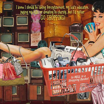 To Hell in a Shopping Basket by DonnaCat