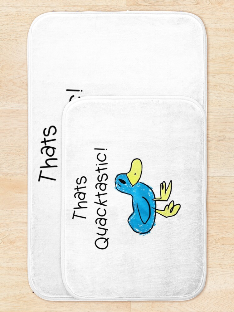 Alternate view of thats Quacktastic Bath Mat