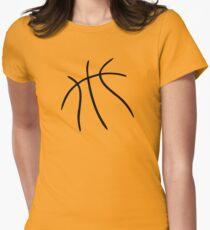 Basketball Women's Fitted T-Shirt