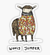 Wooly Pullover Sticker