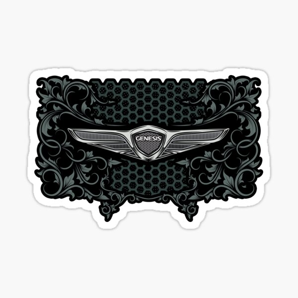 Hyundai Genesis Vintage Badge Sticker