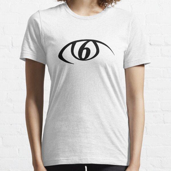Continuum 6 - Black Essential T-Shirt