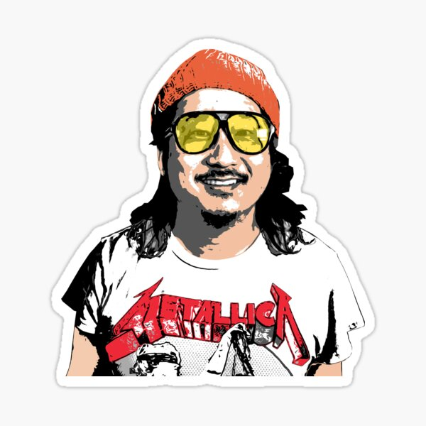 Animated Bobby Lee 'Tiger Belly'  Sticker