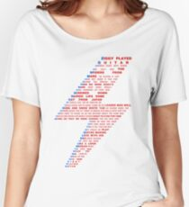 Ziggy played guitar... Women's Relaxed Fit T-Shirt