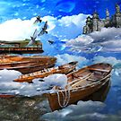 boats in the clouds by John Ryan