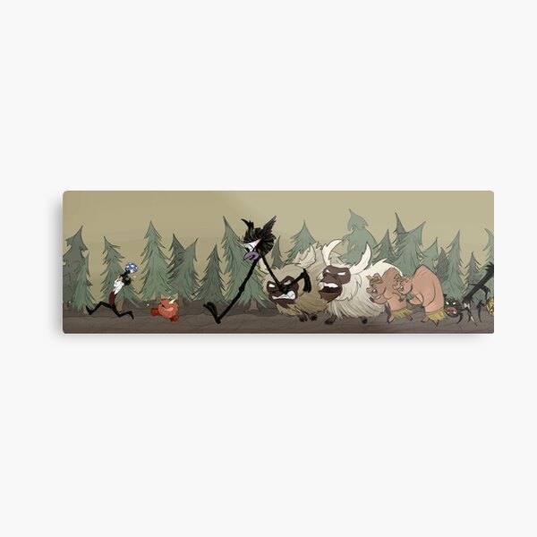 Don't Starve and Don't Die Metal Print