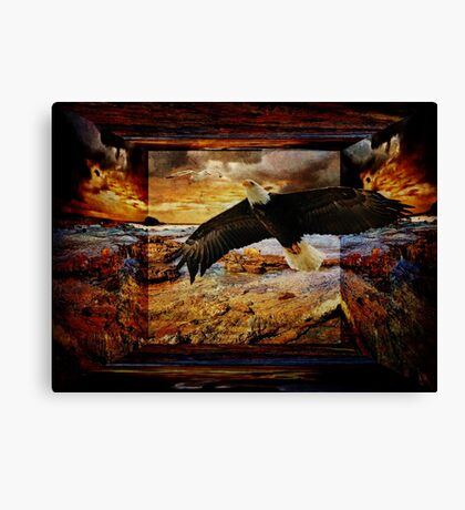 A Tune Sung Together Canvas Print