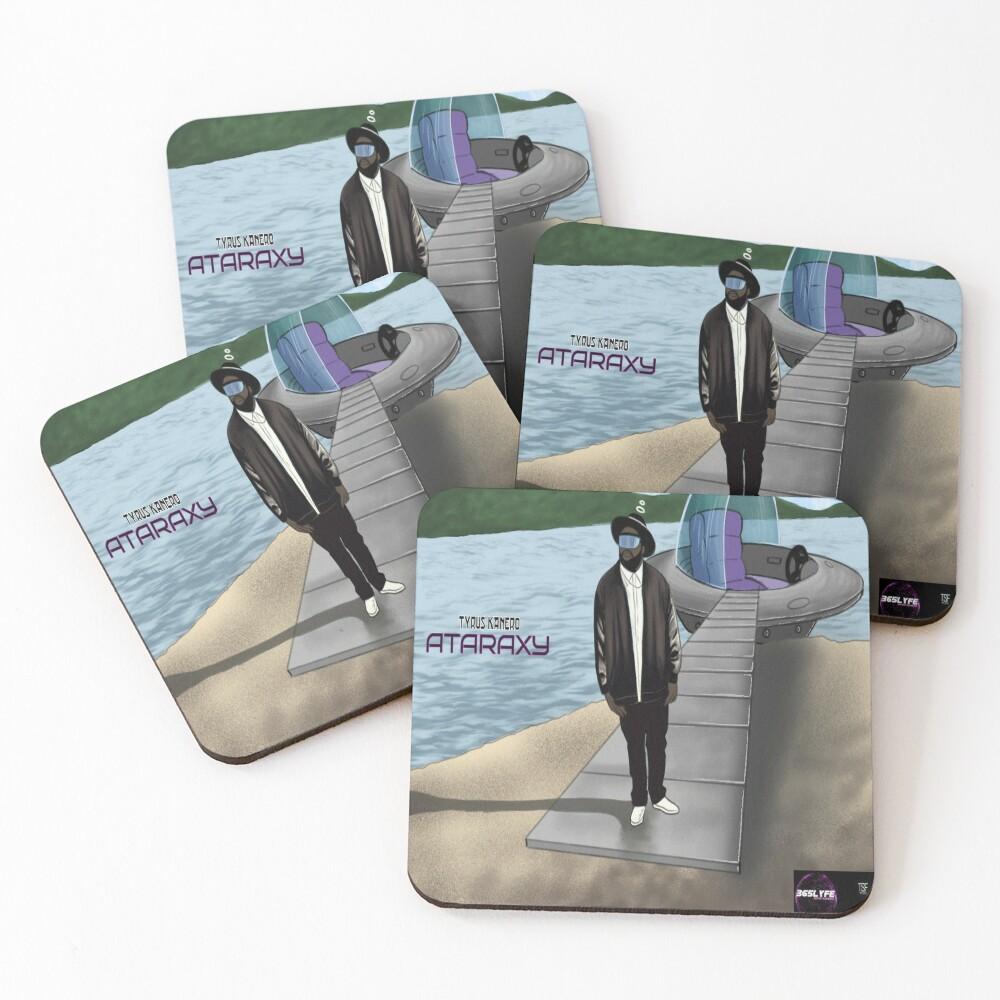 T.Kanero - Ataraxy  Coasters (Set of 4)