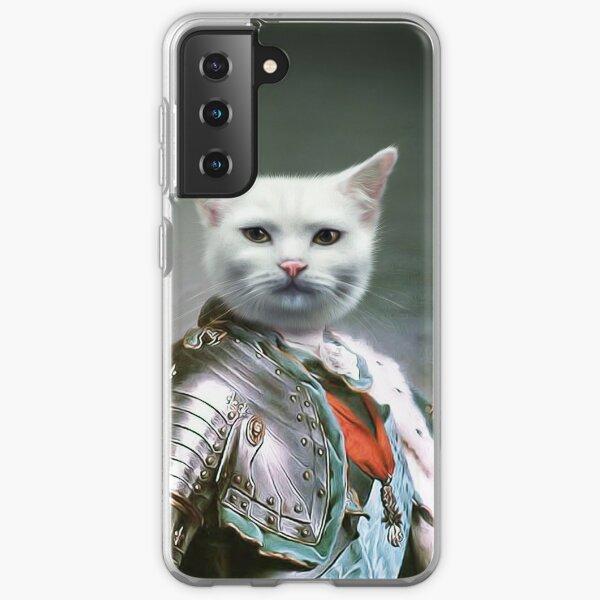 Cat Portrait - Minion Samsung Galaxy Soft Case