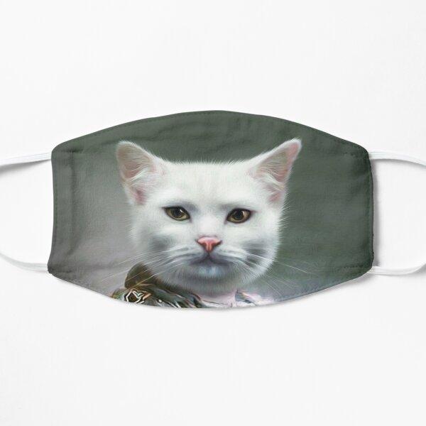 Cat Portrait - Minion Flat Mask