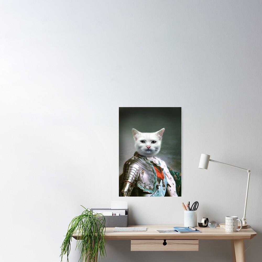Cat Portrait - Minion Poster