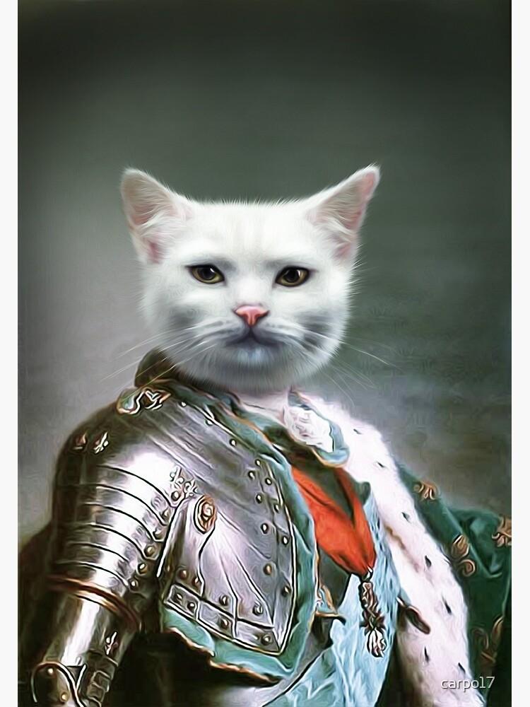 Cat Portrait - Minion by carpo17