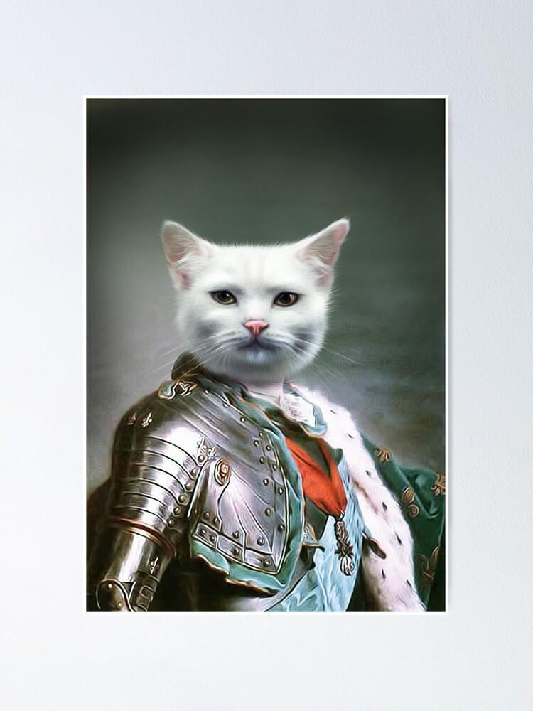 Alternate view of Cat Portrait - Minion Poster