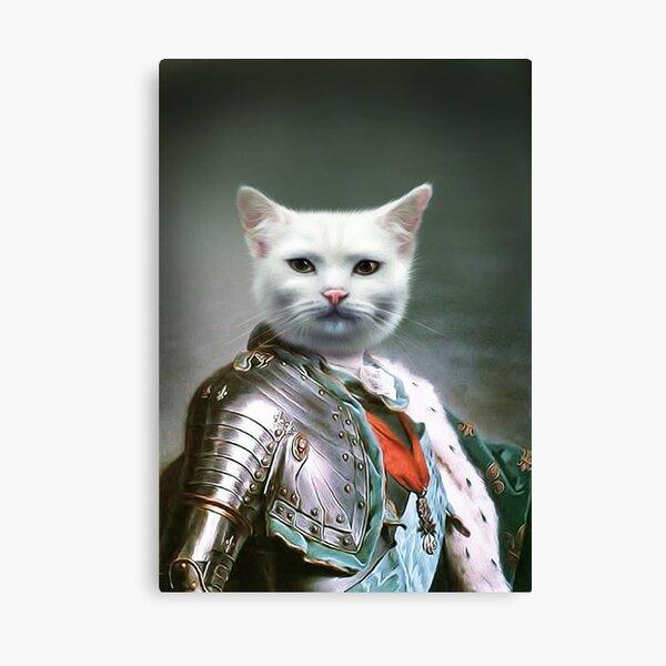 Cat Portrait - Minion Canvas Print