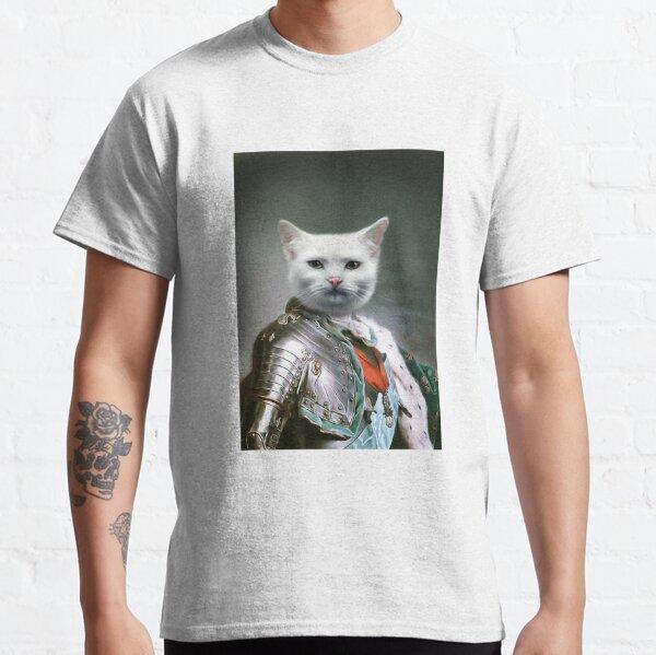 Cat Portrait - Minion Classic T-Shirt