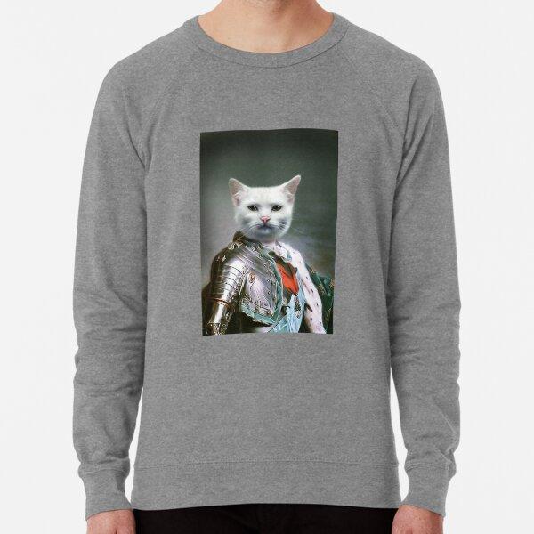 Cat Portrait - Minion Lightweight Sweatshirt