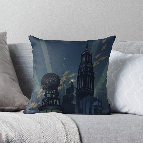 No Gods, No Kings, Only Man Throw Pillow