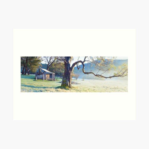 Oldfields Hut, Kosciuszko National Park, Australia Art Print