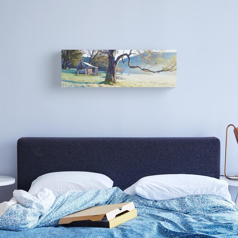 Oldfields Hut, Kosciuszko National Park, Australia Canvas Print