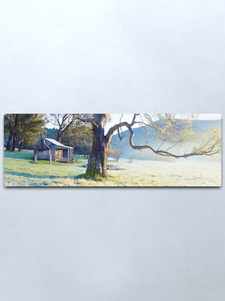 Alternate view of Oldfields Hut, Kosciuszko National Park, Australia Metal Print