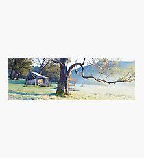 Oldfields Hut, Kosciuszko National Park, Australia Photographic Print