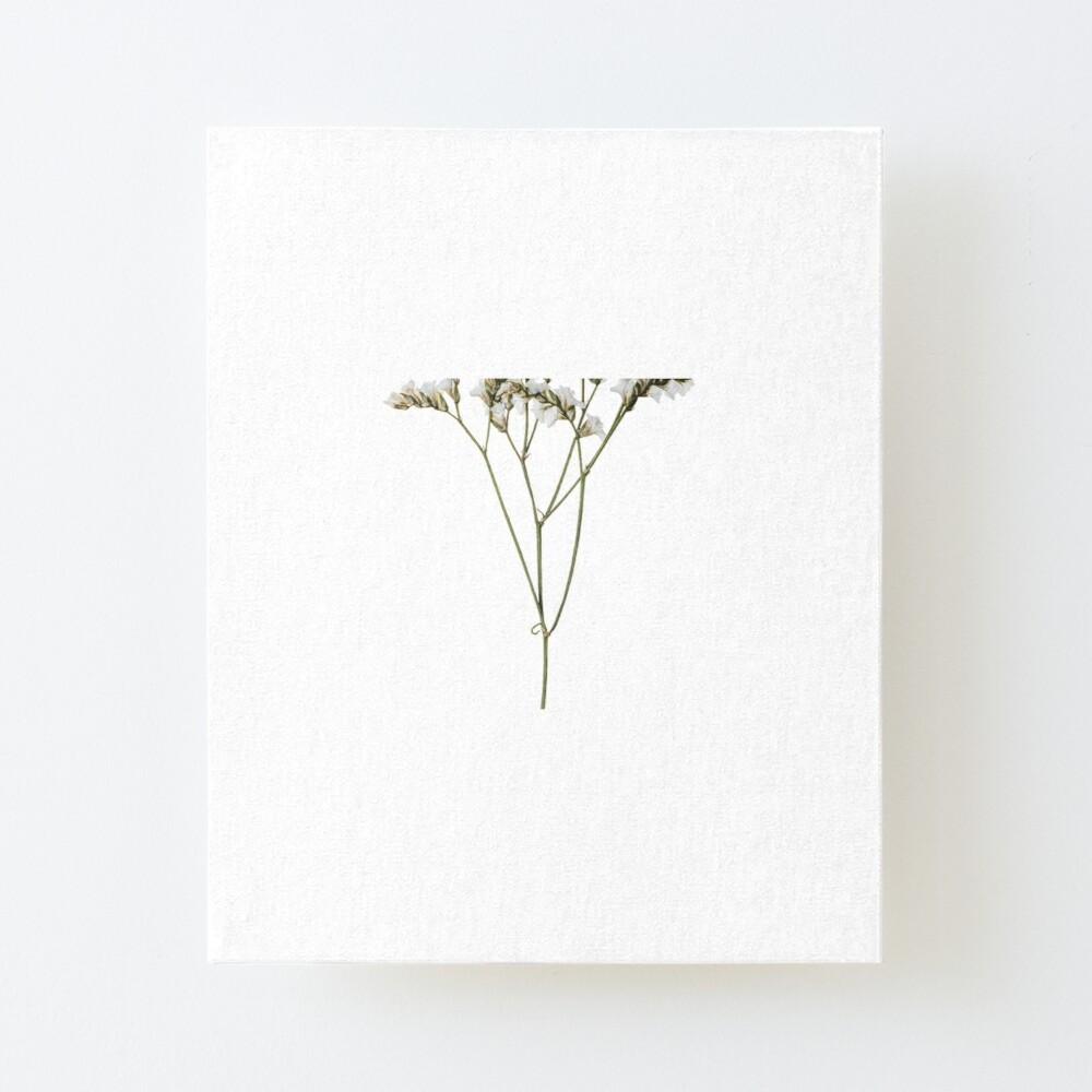 Simple Flower Design Art Board Print By Asherseven Redbubble